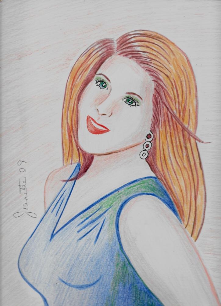 Jennifer Aniston par Jeanette